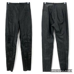 North Beach Leather Michael Hoban black skinny leg